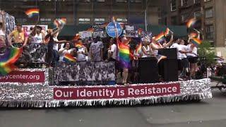 Gay Pride Revelers: US Has