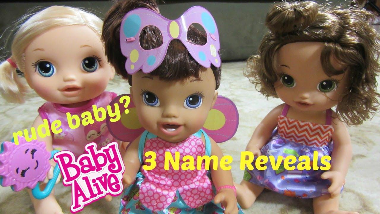 Baby Alive Doll Summer Is So Rude Go Bye Bye Doll Ready