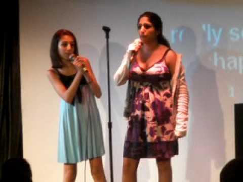 Carnival Destiny Cruise Karaoke Morgan & Kaylan part 2