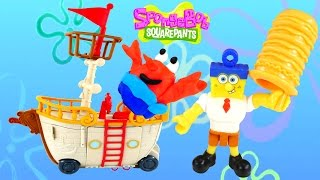 Play Doh Spongebob Squarepants Krabby Patty Food Truck Imaginext LPS Nickelodeon Toys DCTC