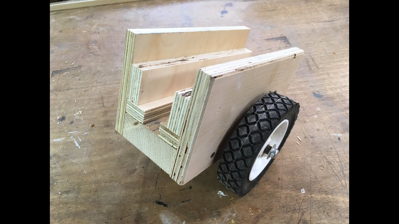 Two Wheel Dolly >> Two Wheel Dolly (Improved) Move Heavy Plywood and Doors Easy - YouTube