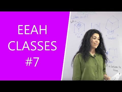 EEAH Class Lessons #7: Simple Past Tense l Easy English at Home