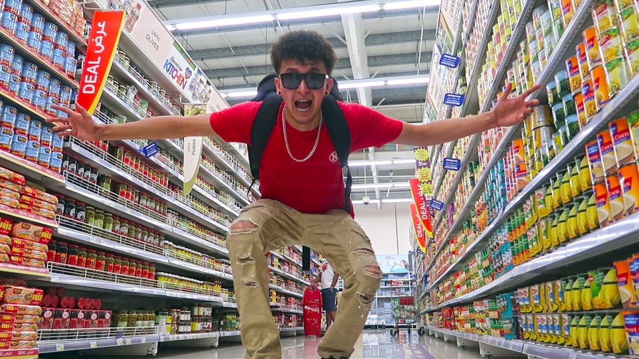 visitando un supermercado en dubai youtube