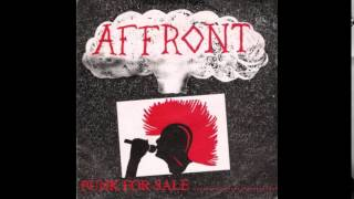Affront - Punk for sale... said Wattie one day (Full EP)
