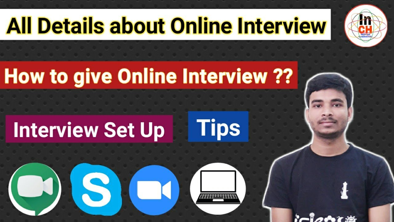 All details about Online Interview || Interview Set up || Tips & Suggestions || Skype/Meet/Zoom 😊