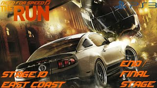 Need for Speed The Run (PS3) - Stage 10 [East Coast] (END/Final Race/Credits)
