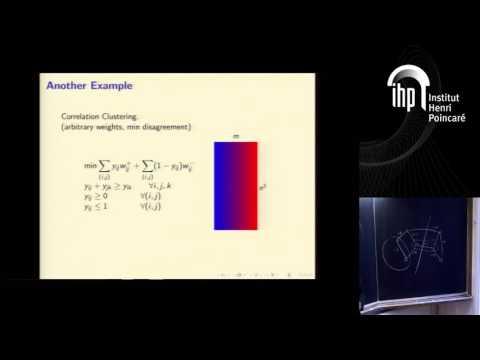 Nexus Trimester -  Sudipto Guha (University of Pennsylvania)