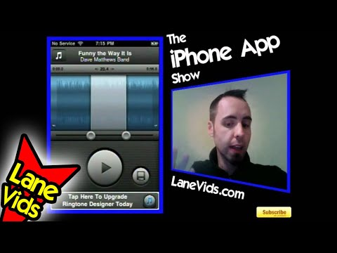 Ringtone Designer: Ep 64: The iPhone App Show