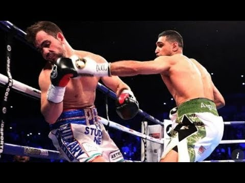 Amir Khan vs Phil Lo Greco Sensational 1st Round TKO Highlights