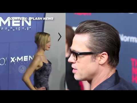 Brad Pitt & Jennifer Lawrence Dating? | Spending Late Nights Together | Full Story