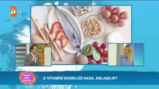 D vitamini eksikliği nasıl anlaşılır? - Sağlıklı Mutlu Huzurlu 137. Bölüm - atv