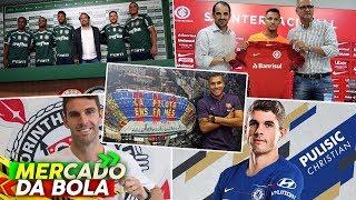 Resumão do MERCADO DA BOLA 2019 l Todas as TRANSFERÊNCIAS da primeira semana de janeiro