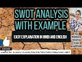 swot analysis with example