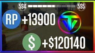 GTA 5 ONLINE GÜNDE MİLYONLAR KAZANMANIN EN KOLAY YOLU - Yeni Sınırsız Para & RP Yöntemi  1.40