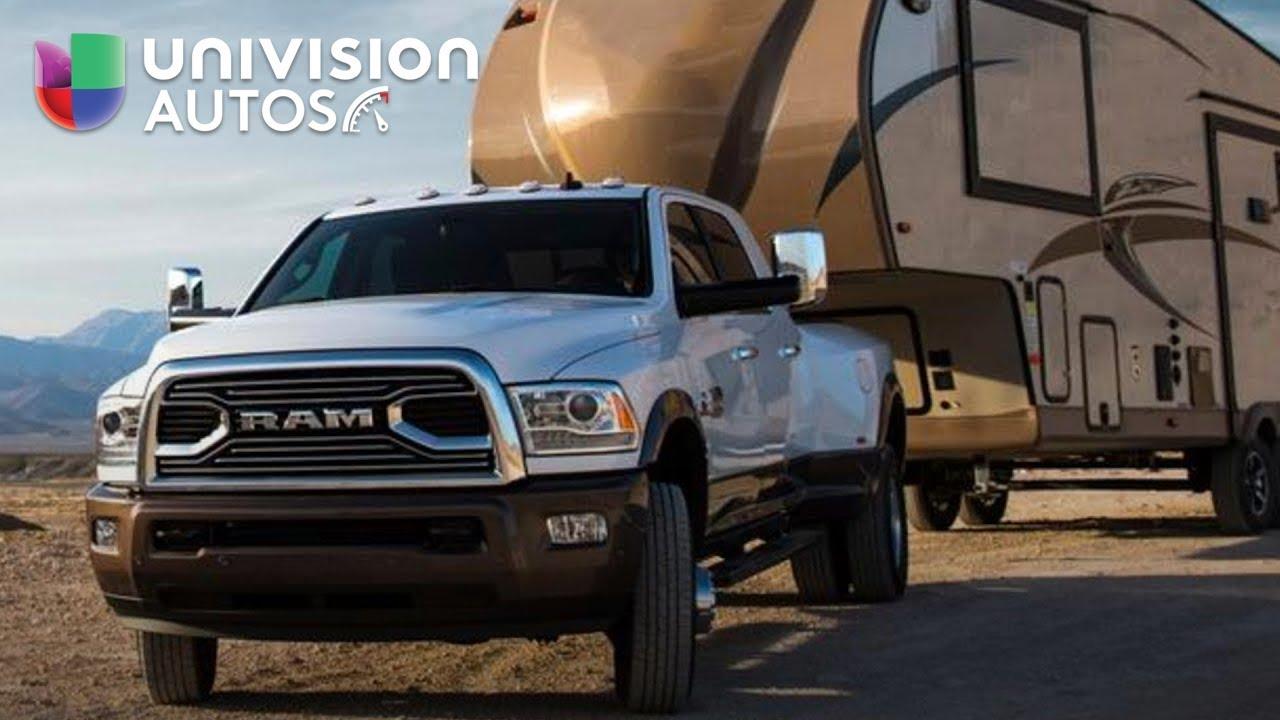 La nueva ram 3500 hd 2018 puede remolcarte a ti y a tu camionetita