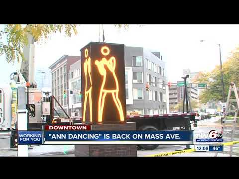 'Ann Dancing' Is Back On Mass Ave