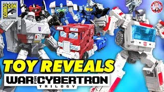 SDCC 2019: Transformers WFC: Siege Ratchet, Reflectors, Animated Optimus & Megatron REVEALED