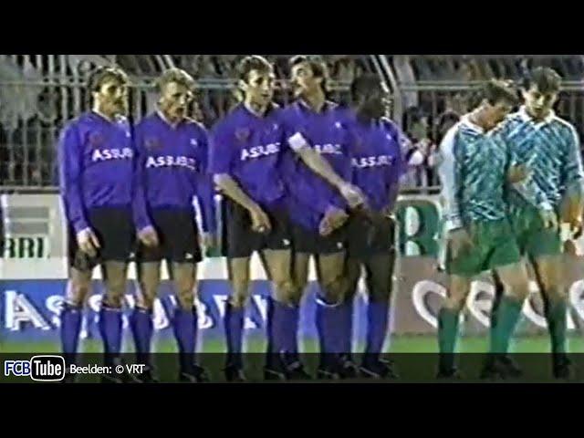 1991-1992 - UEFA-Cup - 04. 8ste Finale - Club Brugge - GKS Katowice 3-0