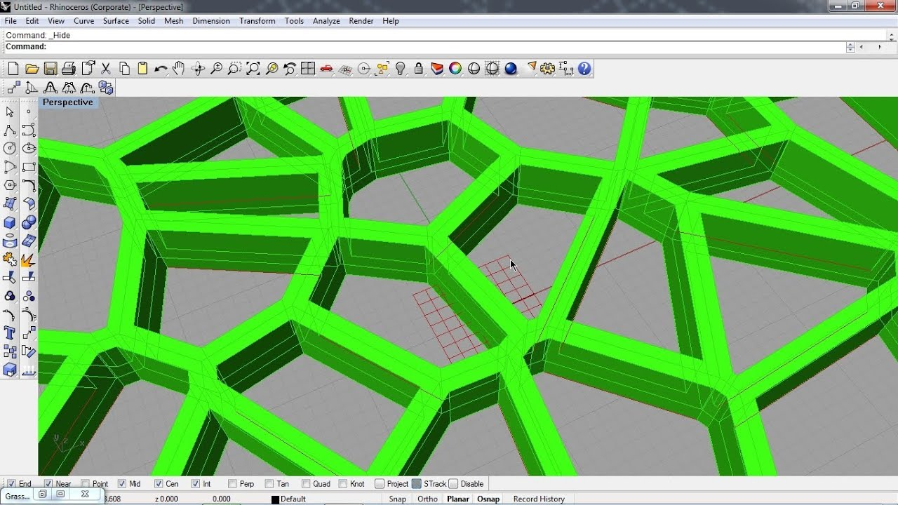grasshopper 3d voronoi 01 youtube rh youtube com Geometry of Voronoi Diagram Voronoi Diagram JavaScript