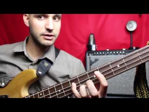 Three Little Birds - Bass Lesson - Bob Marley - JJesusMusic