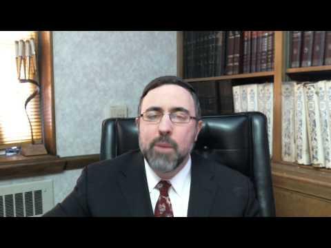 Video Vort - Ki Tisah 5773 - Rabbi Etan Tokayer