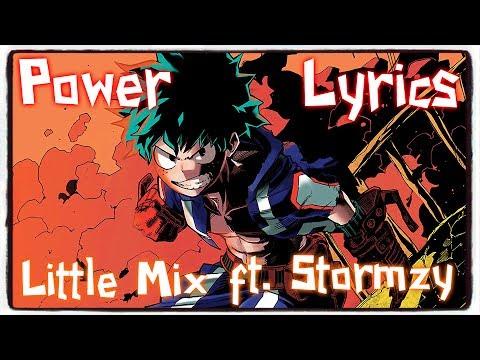 【Nightcore】→ Power    Little Mix ft. Stormzy ✘ Lyrics