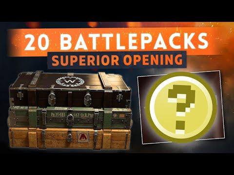 Battlefield 1 20+ Battlepacks Opening | Hunting Legendary Skins |