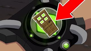 COMO VIVER DENTRO DO OMNITRIX DO BEN 10 NO MINECRAFT ! (ONDE OS ALIENS DO BEN 10 VIVEM)