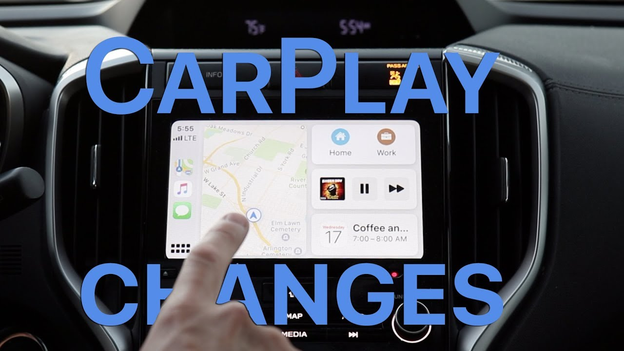 CarPlay in iOS 13 - A Whole New Look