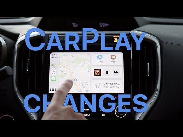 CarPlay in iOS 13, the perfect road trip companion [Video