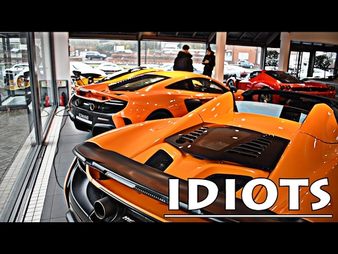 IDIOTS GO CAR SHOPPING: I NEED A NEW SUPERCAR!!