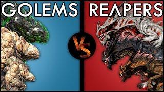golems-vs-reapers-ark-survival-evolved-battle