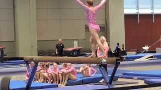Sabrina - Meet 1 of the season - USAG level 4 Thumbnail