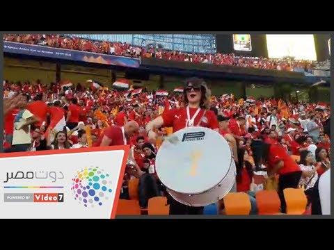 اليوم السابع | الفتيات تشعل ستاد القاهرة لتشجيع مصر ضد جنوب أفريقيا  - 20:53-2019 / 7 / 6