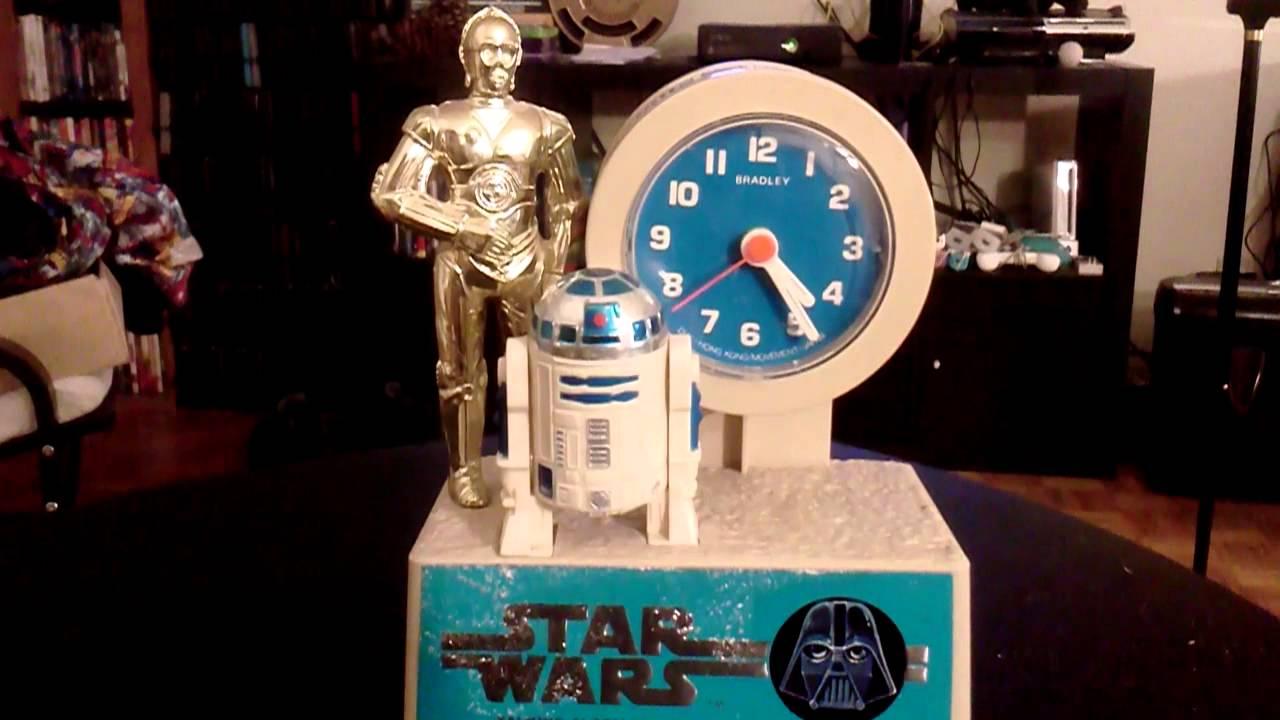 My Vintage Talking Starwars Alarm Clock