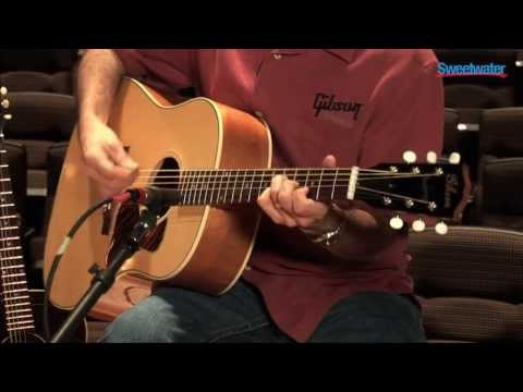 Gibson Acoustic J-35 Acoustic-electric Guitar Demo - Sweetwater Sound