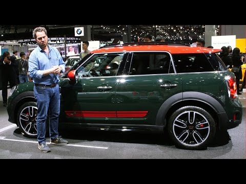 2017 Mini John Cooper Works Countryman [PRESENTATION] : des watts pour le SUV