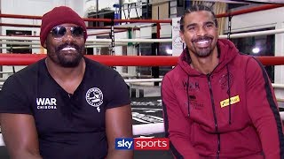 RAW! David Haye & Dereck Chisora reveal how partnership formed, talks Whyte & other heavyweights