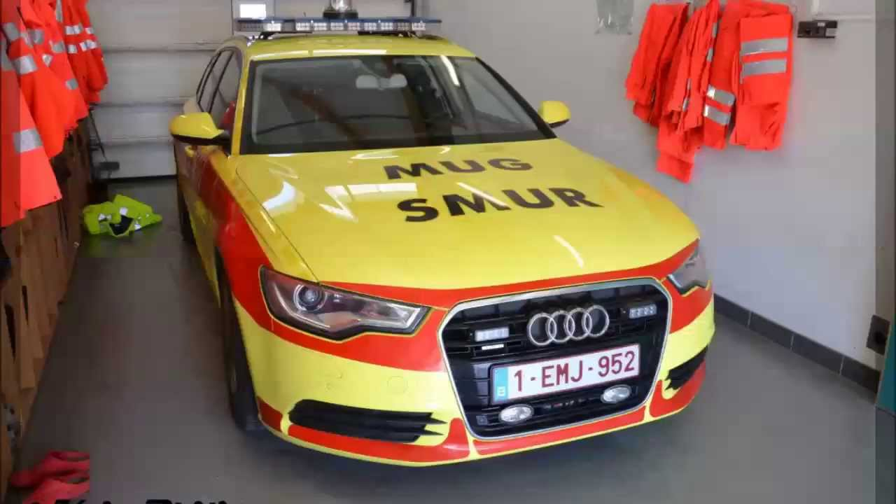 SPECIAL Nouvelle SMUR CHA Libramont Audi A6 YouTube