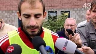 AZ TV 90 Sekunden: FCN-Linksverteidiger Javier Pinola im Interview