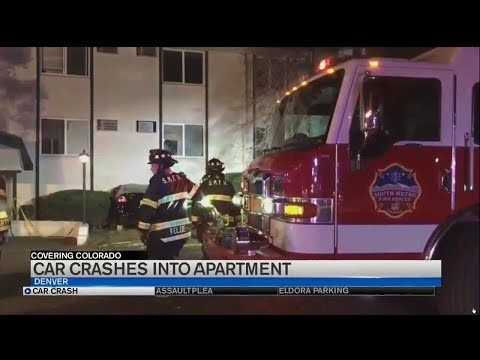 Naked Man Crashes Into Aurora Apartment Building
