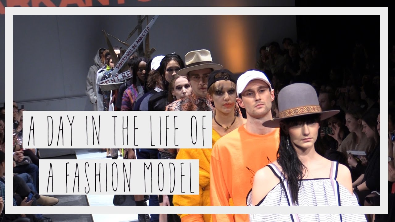 Behind the scenes of fashion models | MARKANTOINE