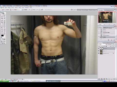 how to make muscles pop in photoshop