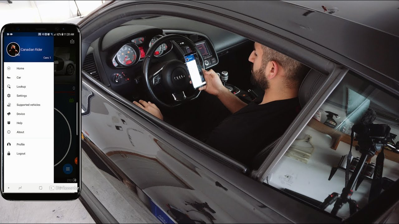 OBDeleven Pro Bluetooth reader for your Audi R8