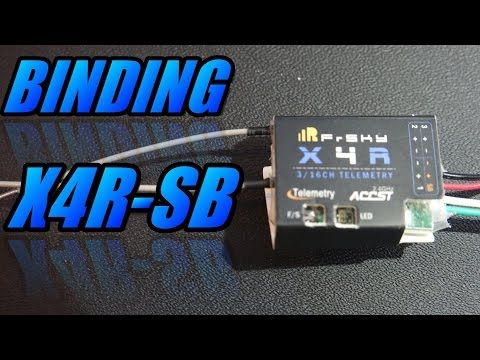 How To Bind FrSky X4R-SB Receiver