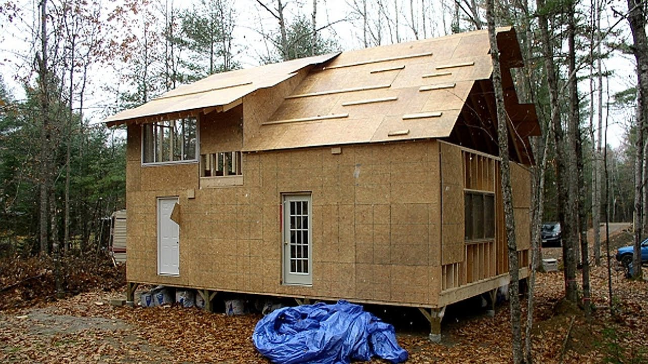 How To Build Family Wood Frame 24 X 30 15 Story House In Forest