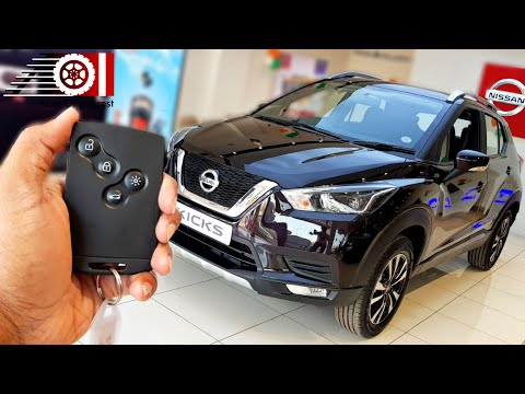 2019 Nissan Kicks XV Premium   Night Shade Black   2nd Top Trim   Price   Mileage   Features   Specs