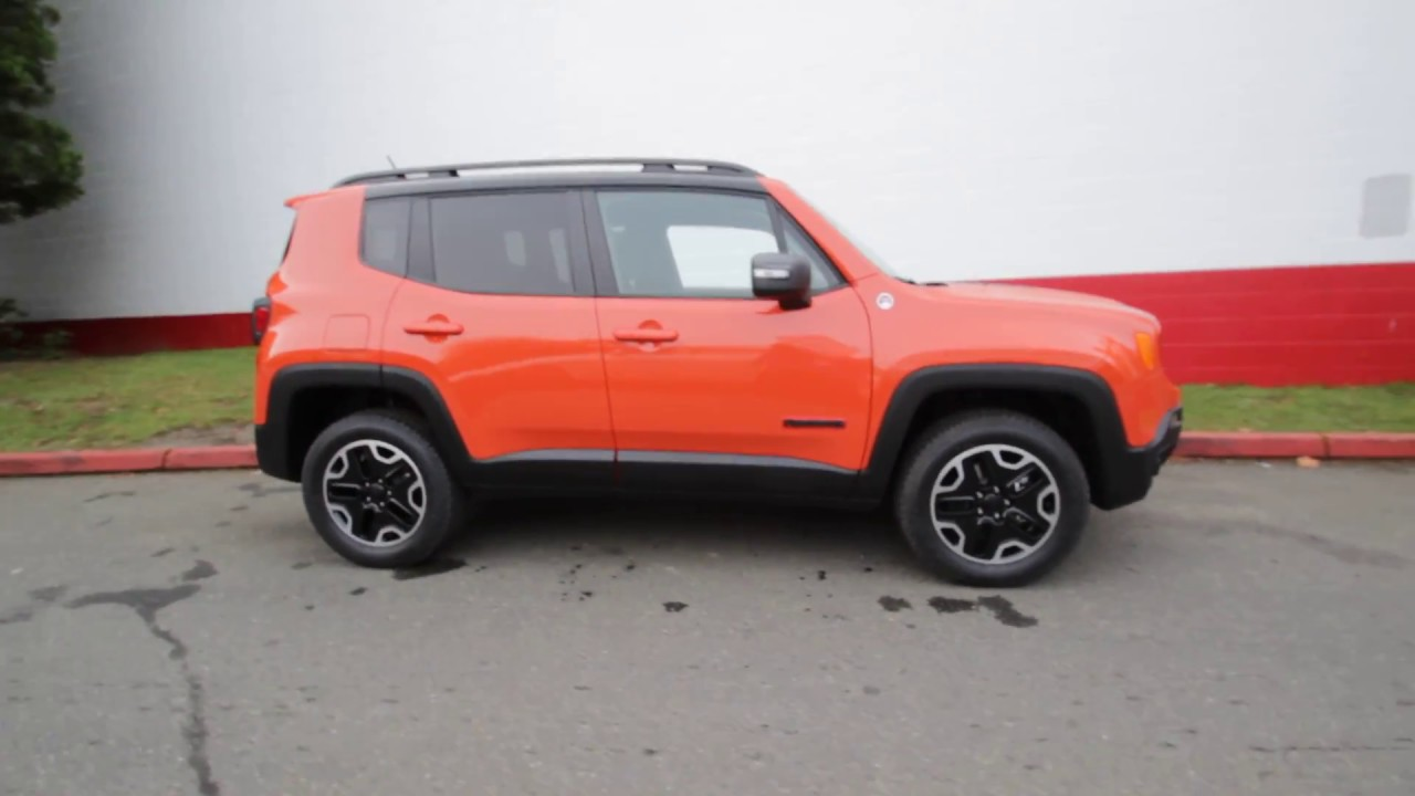 2017 jeep renegade trailhawk 4x4 omaha orange hpe40537 redmond seattle youtube. Black Bedroom Furniture Sets. Home Design Ideas