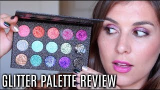 60 Second Review: GLITTER Eyeshadow Palettes! | Bailey B.