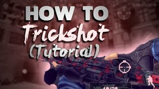 How To Trickshot In Critical Ops!  Tutorial